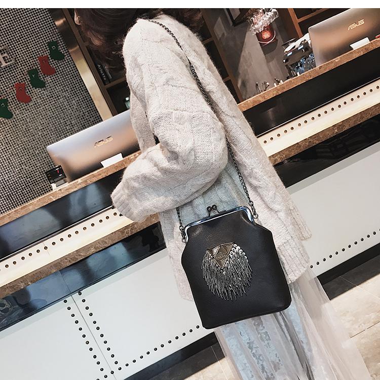 women bag vintage kiss lock shoulder cross body bags (5)