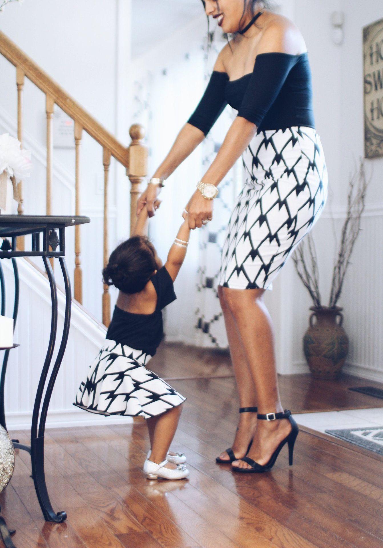 skirt_mother_daughter_matching