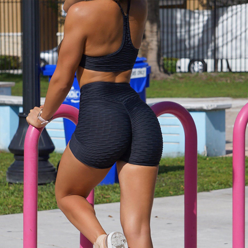 High Elastic Waist Push Up Polyester Shorts JOMOBabe Official Online Store | Best Women's Workout Clothes, Gym & Activewear | JOMOBabe