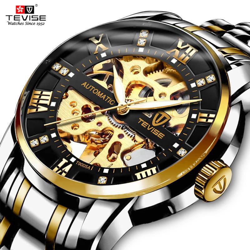 TEVISE-Top-Luxury-Brand-Men-Automatic-Watch-Fashion-Men-Stainless-steel-Skeleton-Mechanical-Wristwatch-Relogio-Masculino
