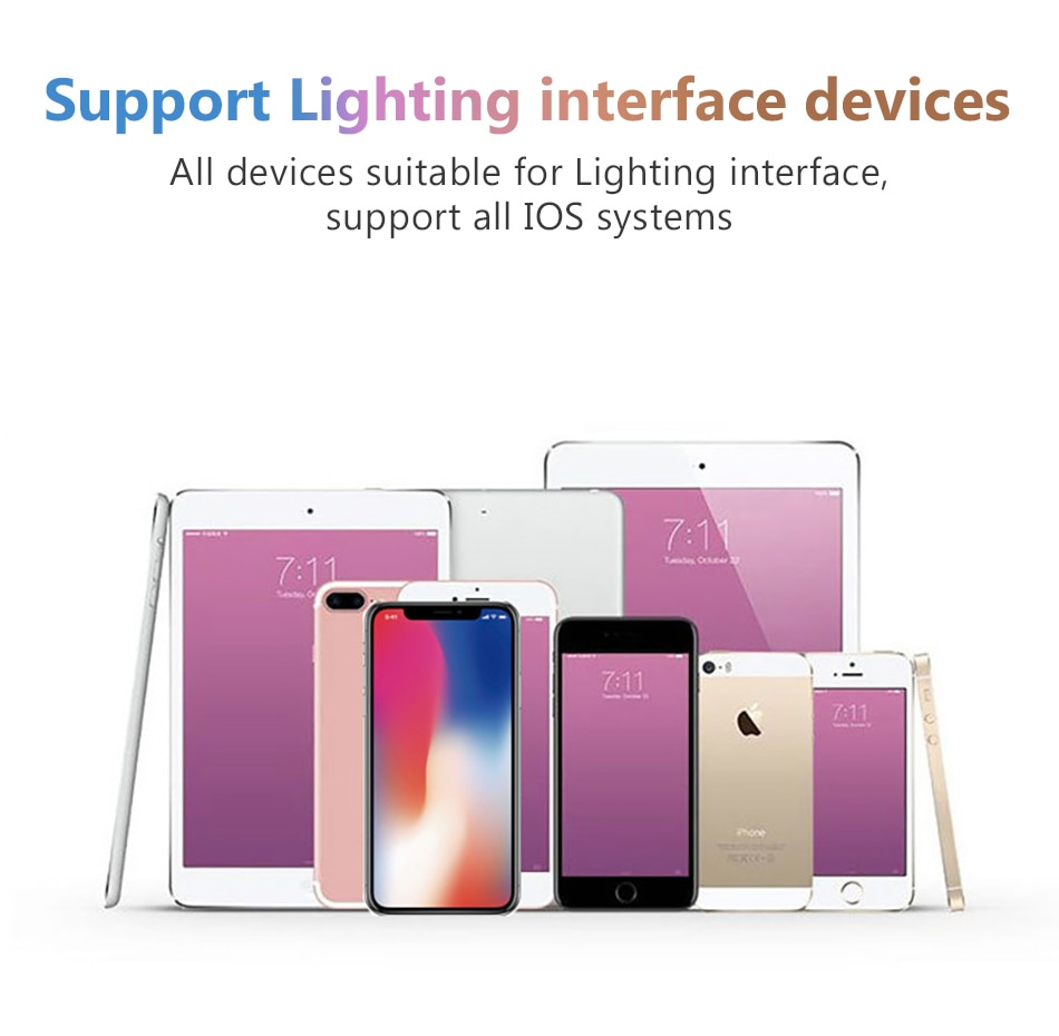 2 in1 Lighting Charger Listening Adapter For iphone X 8 7 Plus Charge Adapters 3.5mm Jack AUX Splitter For iphone XS MAX (8)