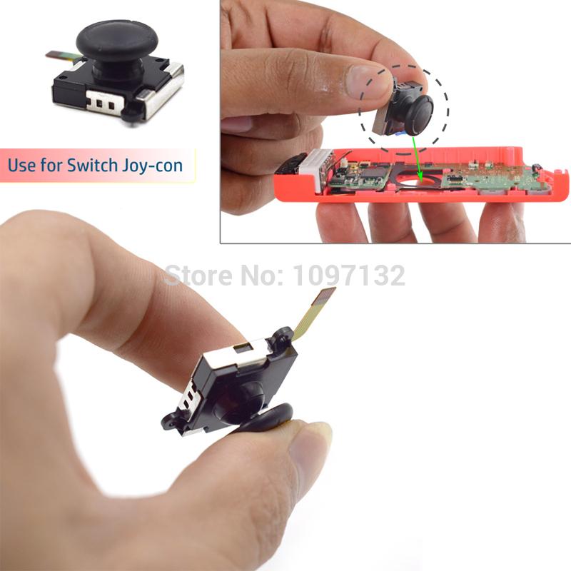 3D Analog Joystick Thumb Sticks Sensor Replacements For Nintendo Switch Joy Con Controller (3)