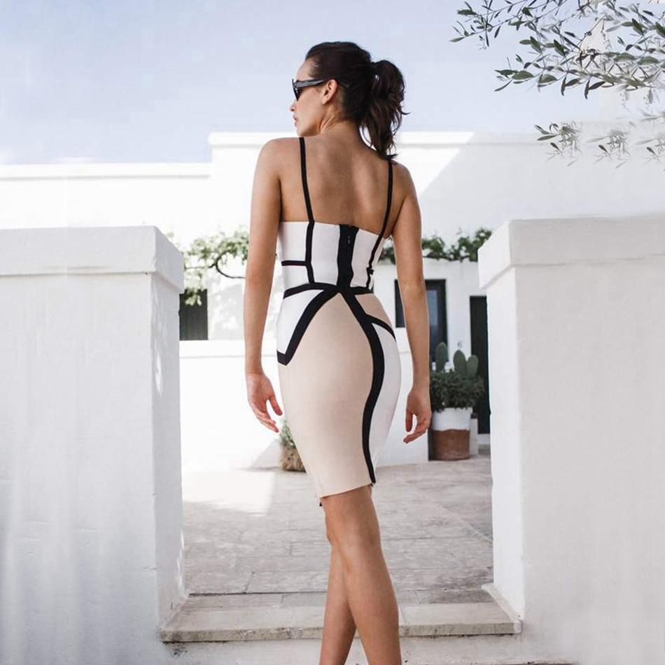 WOMEN BANDAGE DRESS-206