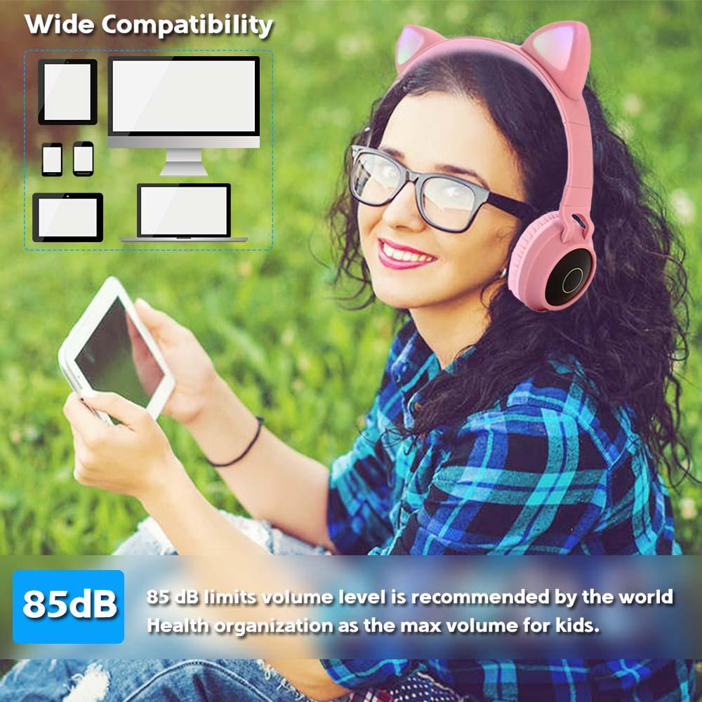 E0250-Cat Ear Headphone-4