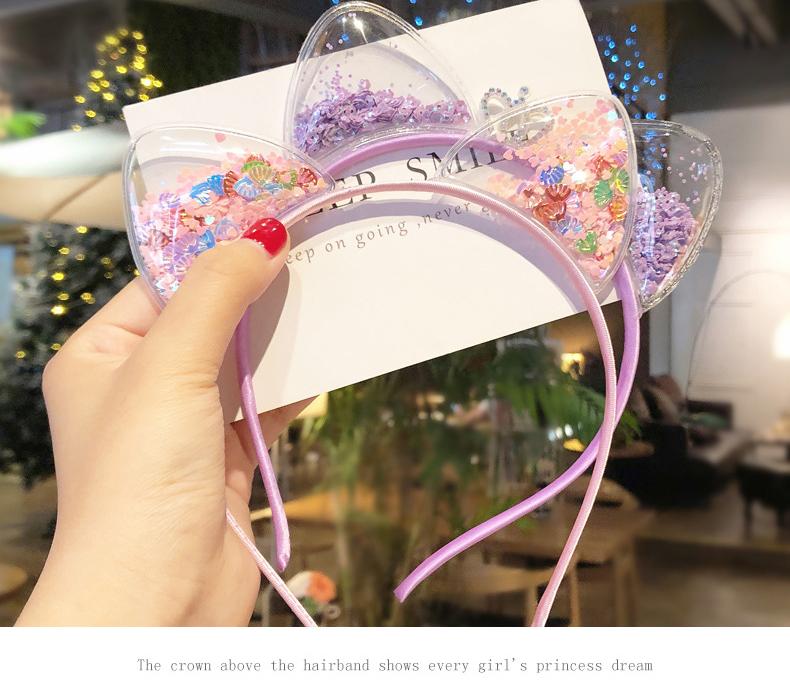 Korean Party Cute Cat Ears Princess Headband Hair Accessories