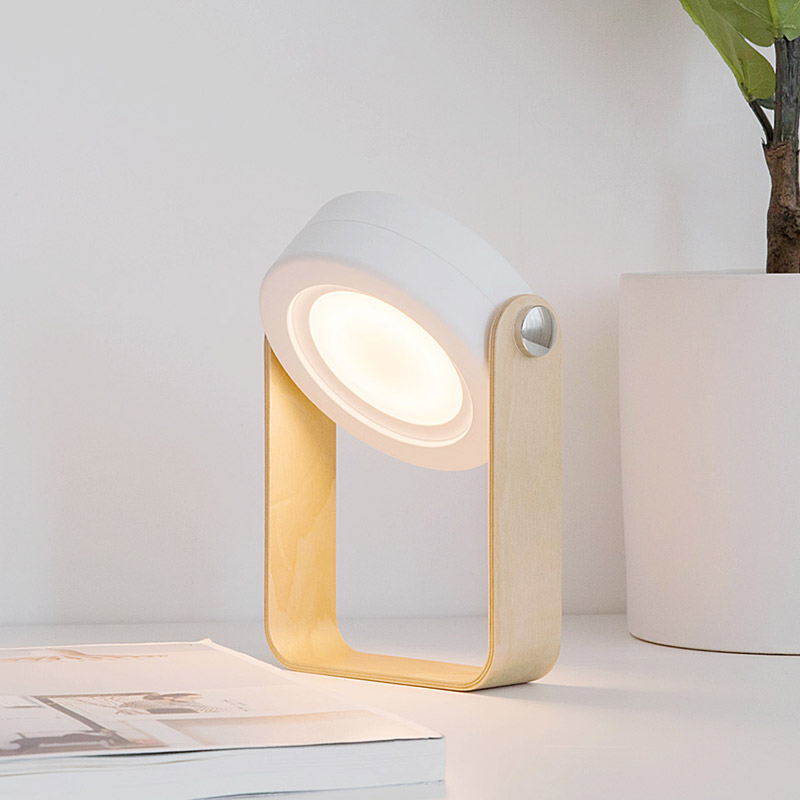 4 in 1 Portable Rechargeable & Collapsible Cool Table Lamp