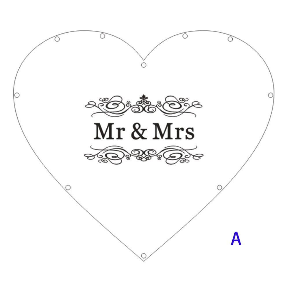 Hearts Unique Wedding Mr Mrs Guest Book Decoration Memory Guest Book Drop Box Signature Acrylic Guest Book Alternative (5)