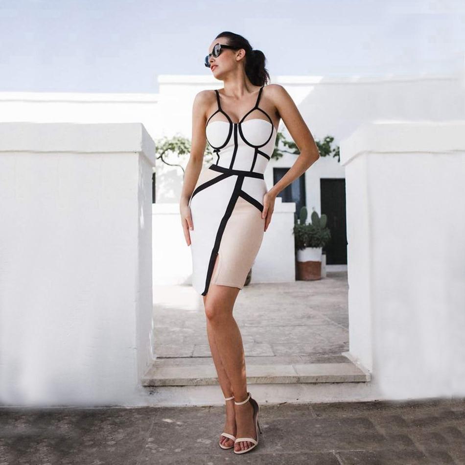 WOMEN BANDAGE DRESS-207