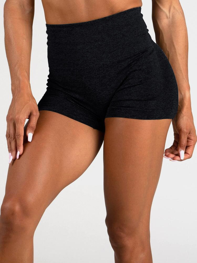 Seamless High Waist Gym Shorts for Women Hollow Mesh Breathable Compression Workout Yoga Shorts JOMOBabe Online Store | Women Workout Clothes & Gym Gear | JOMOBabe