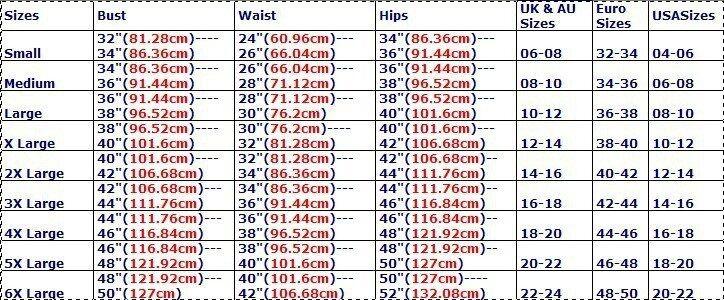 国际标准尺码
