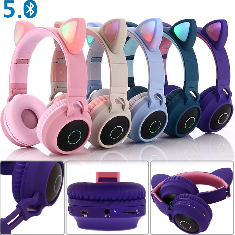 E0250-Cat Ear Headphone-1