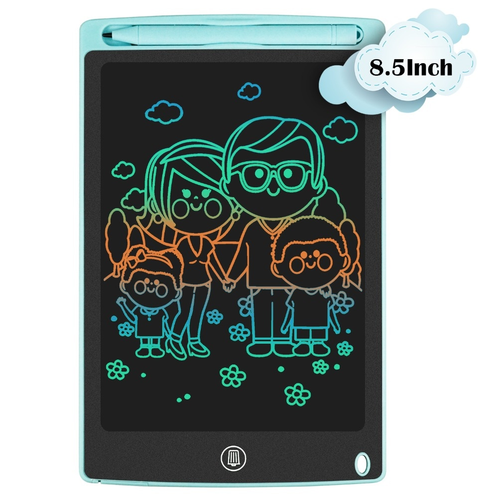 8.5 inch colors sky blue Portable Hand