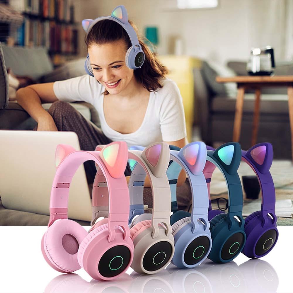 E0250-Cat Ear Headphone-7