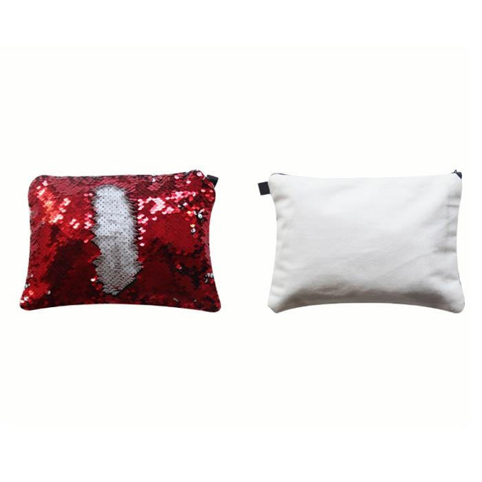亮片化妆包-红色2