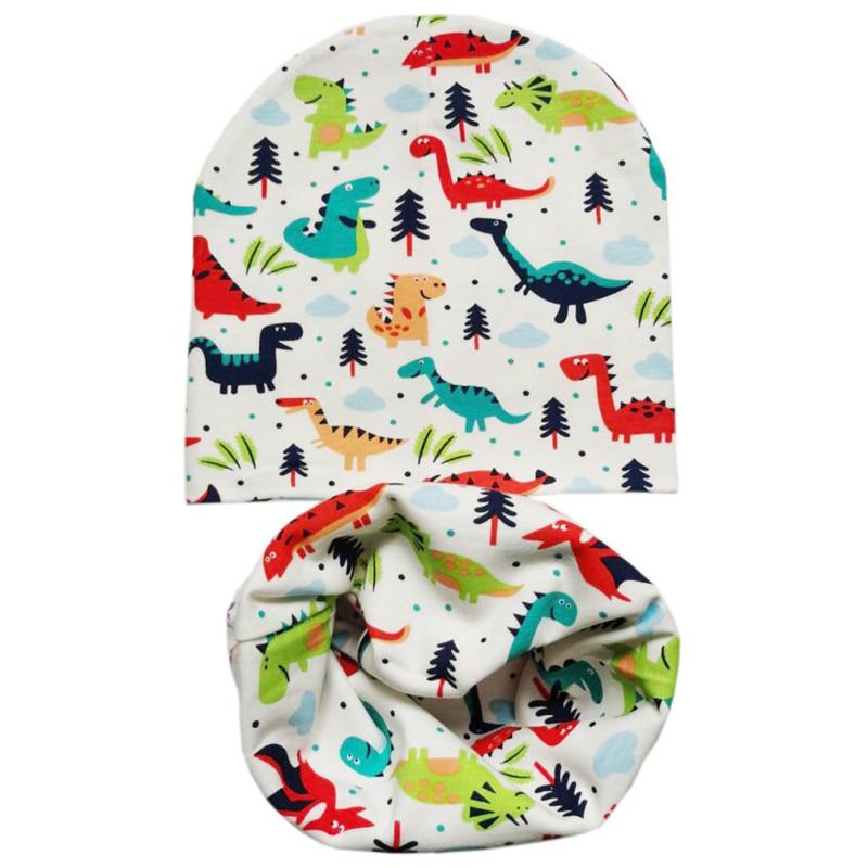 color dinosaur head cap kids
