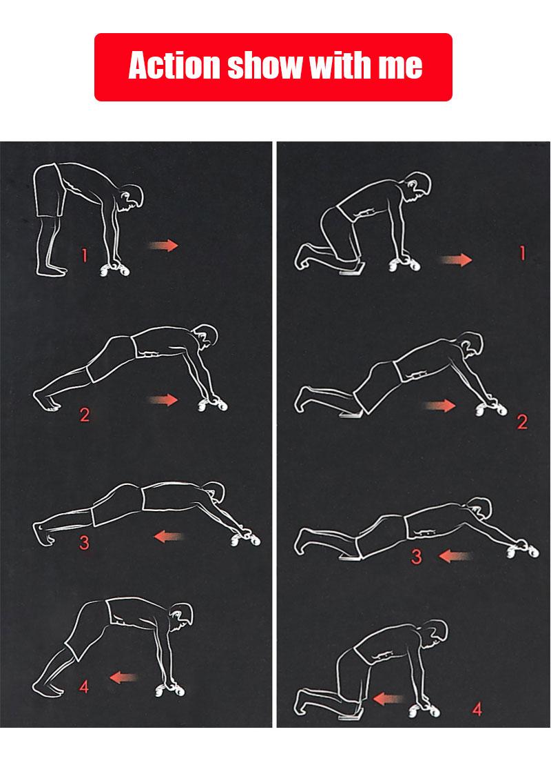 李宁自动回弹健腹轮家用男锻炼女瘦肚子收练卷腹腹肌滚轮健身器材-tmall_12
