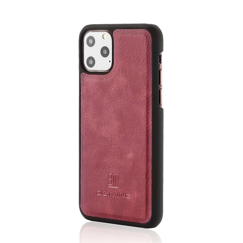 DG-Ming-Retro-Flip-Cowhide-Leather-Bifold-Wallet-Magnetic-Case-Detachable-Cover-Card-Pockets-Stand-For