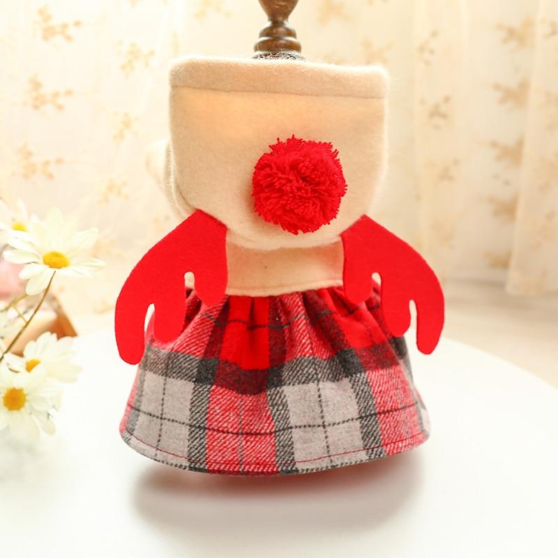 红格麋鹿裙_6366