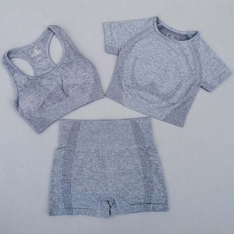 3Pcs-Vital-Seamless-Yoga-Set-Women-Gym-Workout-Clothes-Sports-Bra-Short-Sleeve-Fitness-Crop-Top