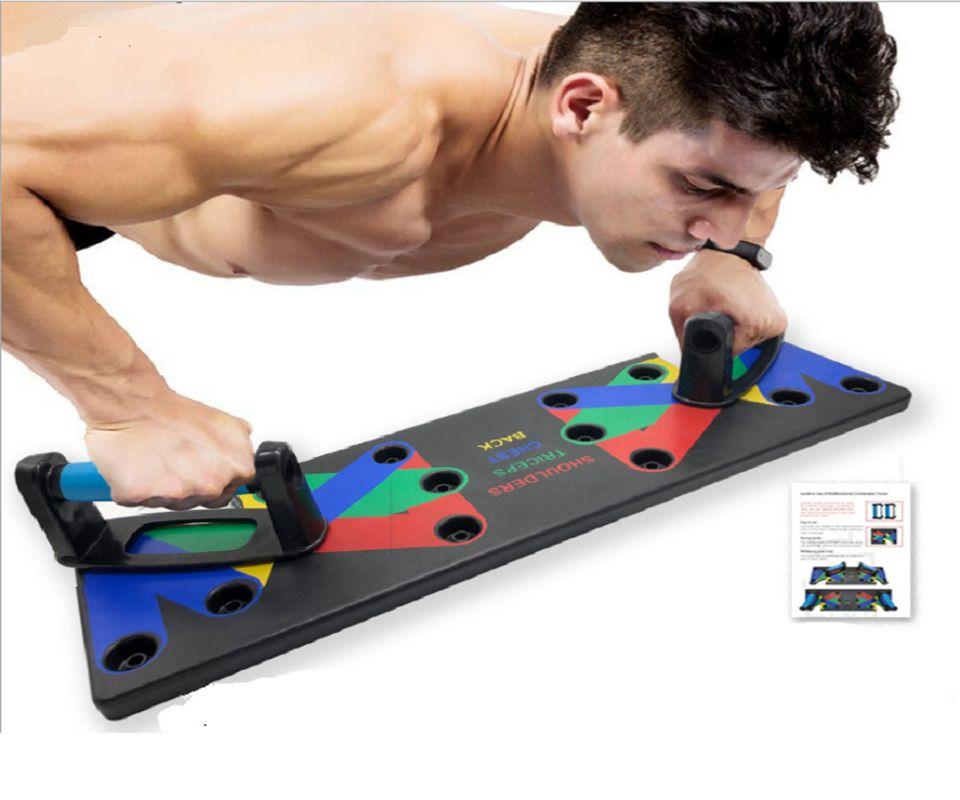 9 in 1 Push Up Rack Board Men Women Comprehensive Fitness Exercise