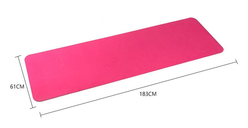 183*61cm 6mm Thick Double Color Non-Slip T