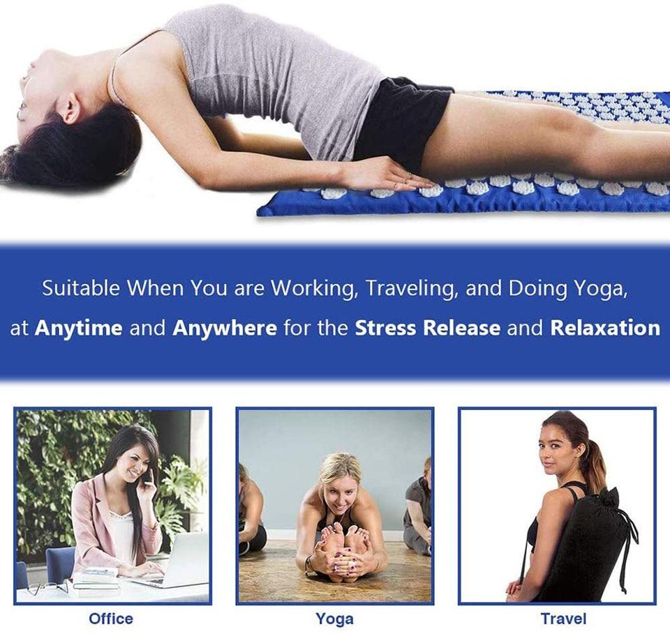 KoKossi Mat Acupressur/Yoga Mat/ Fitness Mat/ Acupressur