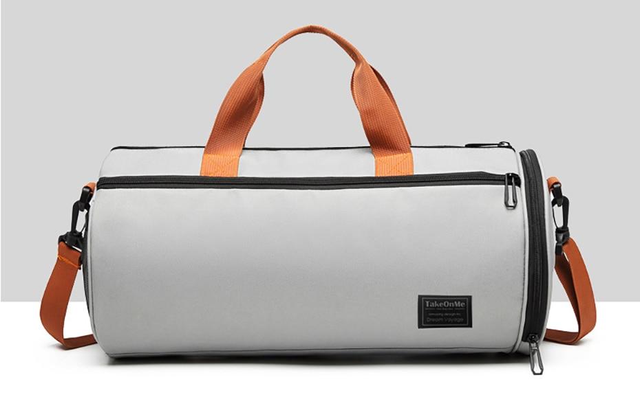 Outdoor Sports Gym Bag Multifunction Training Fitness Shoulder Bag With Shoes Pocket Travel Yoga Handbag Dry wet Swimming Bag0102