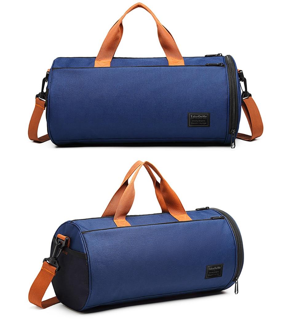 Outdoor Sports Gym Bag Multifunction Training Fitness Shoulder Bag With Shoes Pocket Travel Yoga Handbag Dry wet Swimming Bag0105