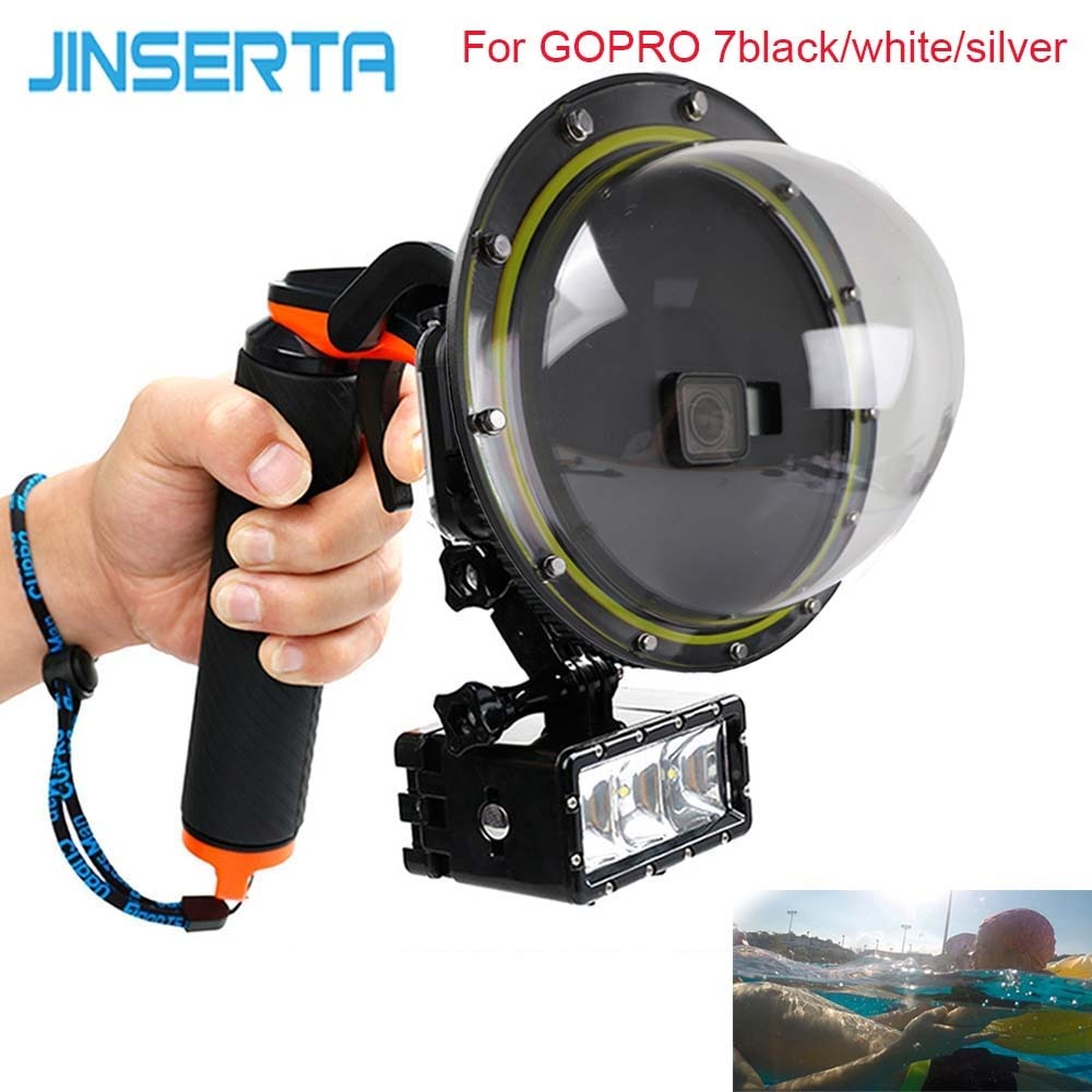 E3527-Waterproof Dome Port for GOPRO7-14