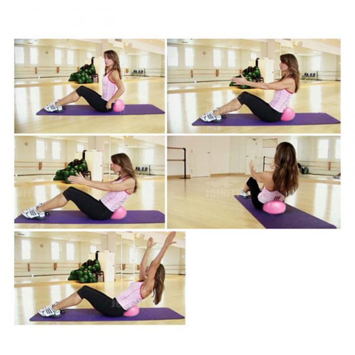 PVC Small Pocket 25cm Pilates Yoga Balance