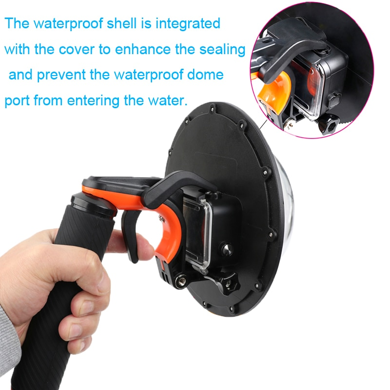 E3527-Waterproof Dome Port for GOPRO7-2