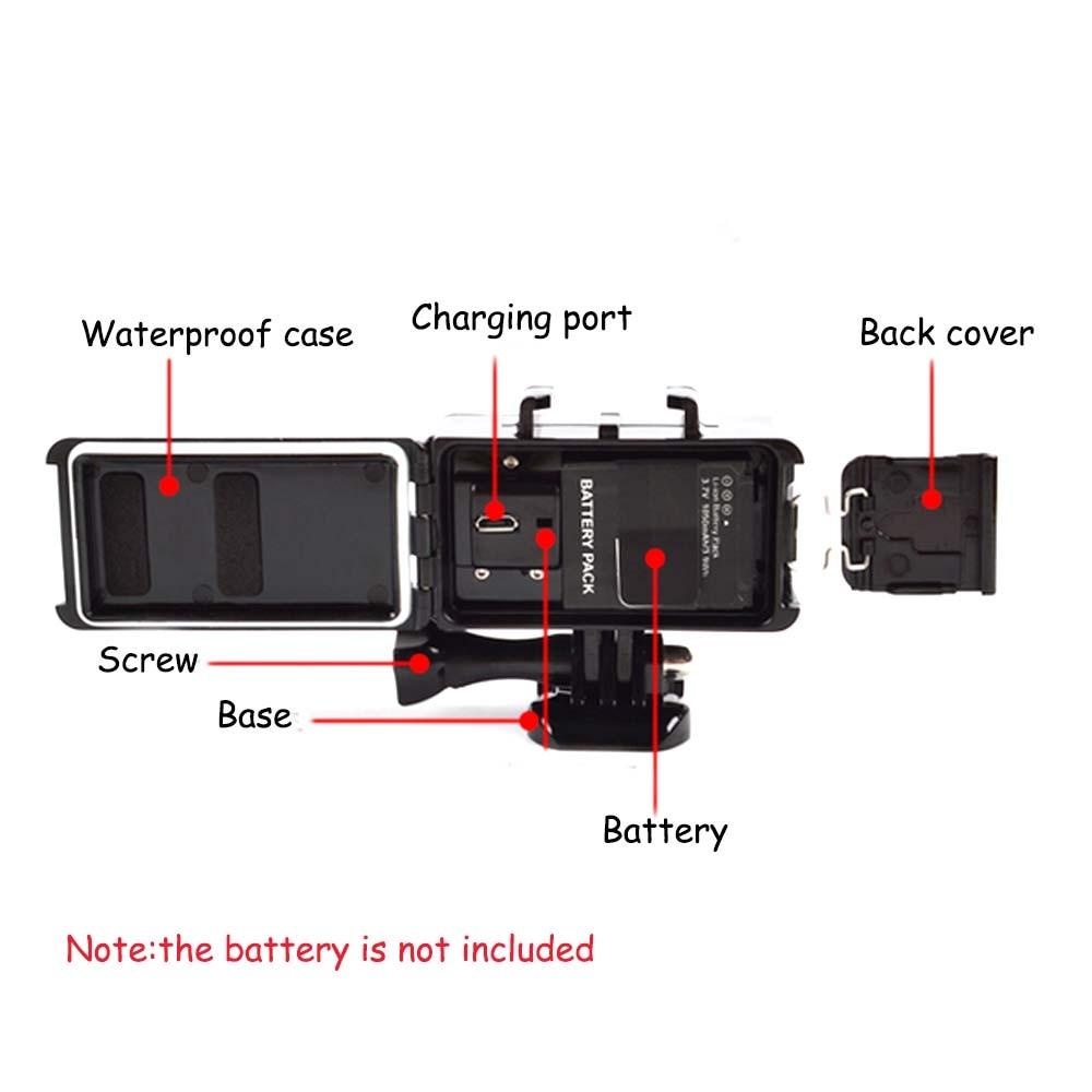 E3662-Waterproof LED Light for SJCAM-10