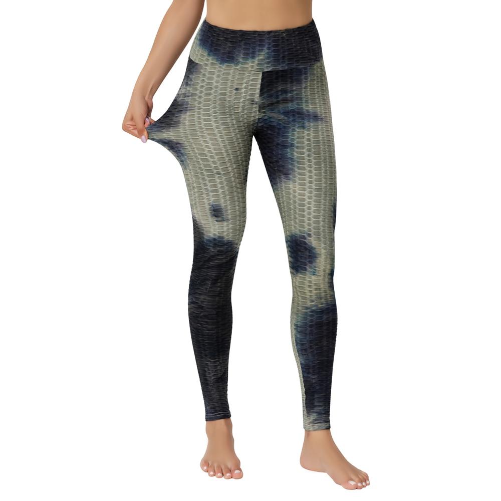 High Waist Leggings Yoga Pants Workout Tummy Control 4-Way Stretch Tie Dye Pants JOMOBabe Online Store | Women Workout Clothes & Gym Gear | JOMOBabe