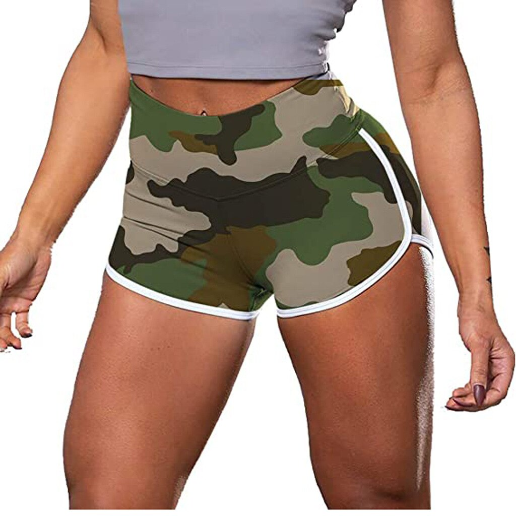 Quick Drying Camo Tie Dye Scrunch Booty Casual Shorts JOMOBabe Official Online Store | Best Women's Workout Clothes, Gym & Activewear | JOMOBabe