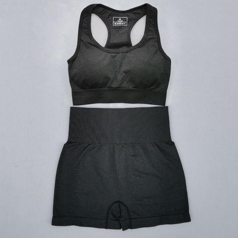 New-Summer-Seamless-Yoga-Sports-Suits-Women-Workout-Clothes-Sport-Bra-High-Waist-Fitness-Shorts-2 (3)