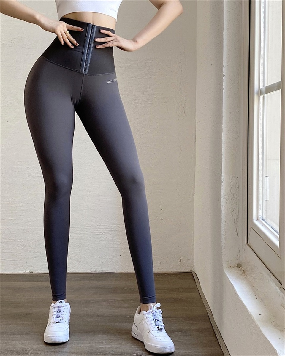 Women's Active High Waisted Shrink Abdomen Leggings - JOMOBabe Official Online Store | Women Gym Clothes & Workout Wear