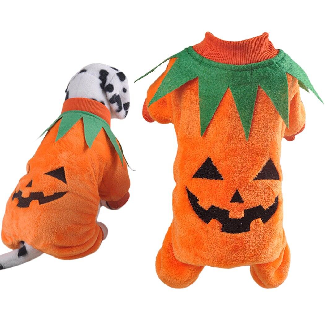 2021 Halloween Pet Cat Costume Creative Cute Pumpkin
