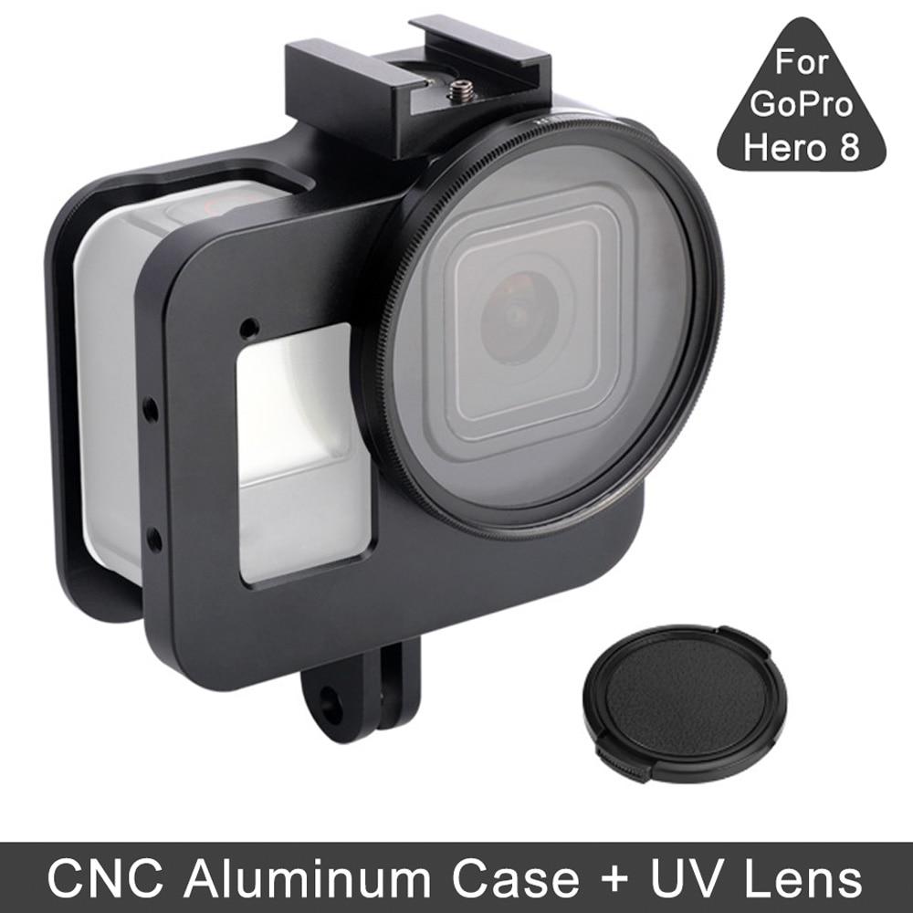 E7862-Aluminum Alloy Case for Gopro 8-1
