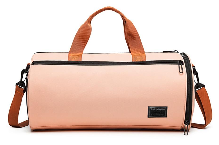 Outdoor Sports Gym Bag Multifunction Training Fitness Shoulder Bag With Shoes Pocket Travel Yoga Handbag Dry wet Swimming Bag0111