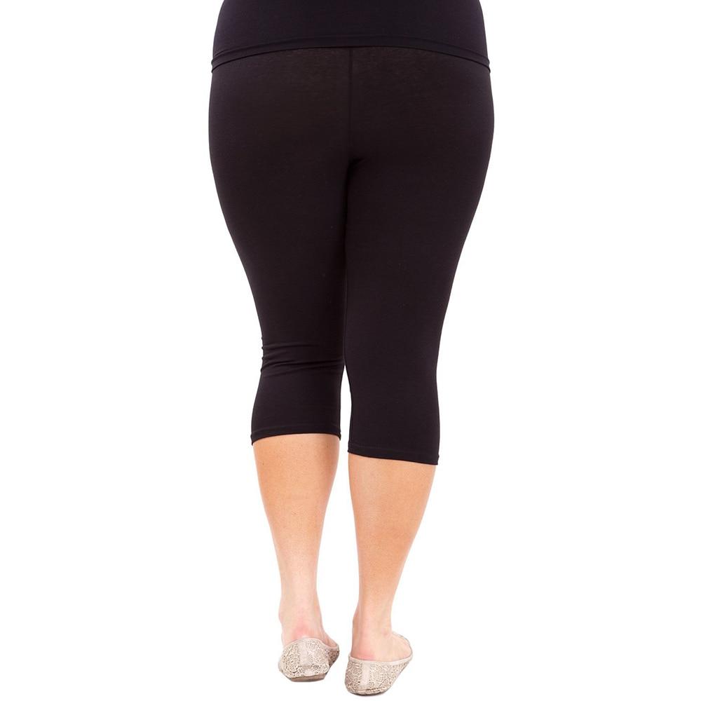 Plus Size Leggings Cotton Elastic Waist JOMOBabe Online Store | Women Gym Clothes & Workout Gear | JOMOBabe
