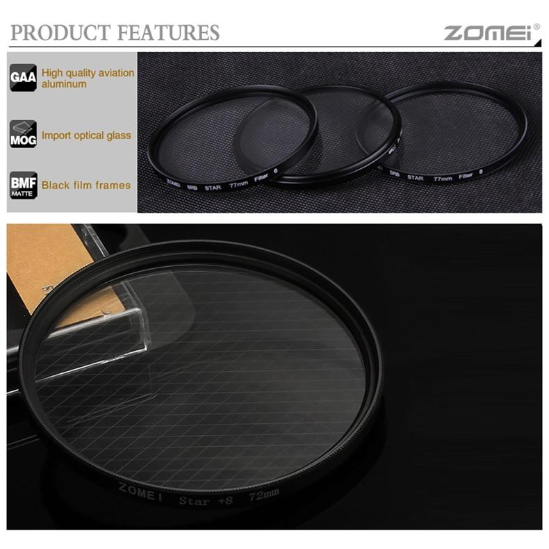 zomei star filter kit 4+6+8(4)