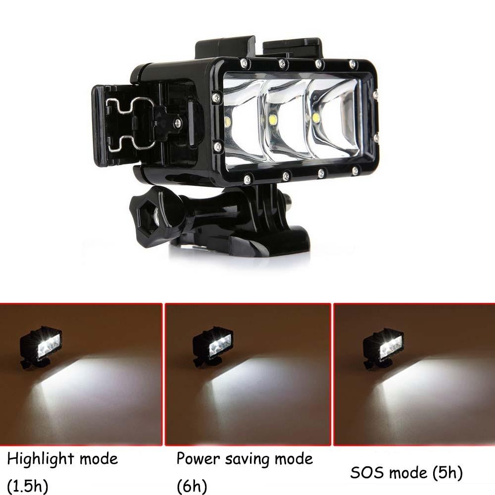E3662-Waterproof LED Light for SJCAM-9