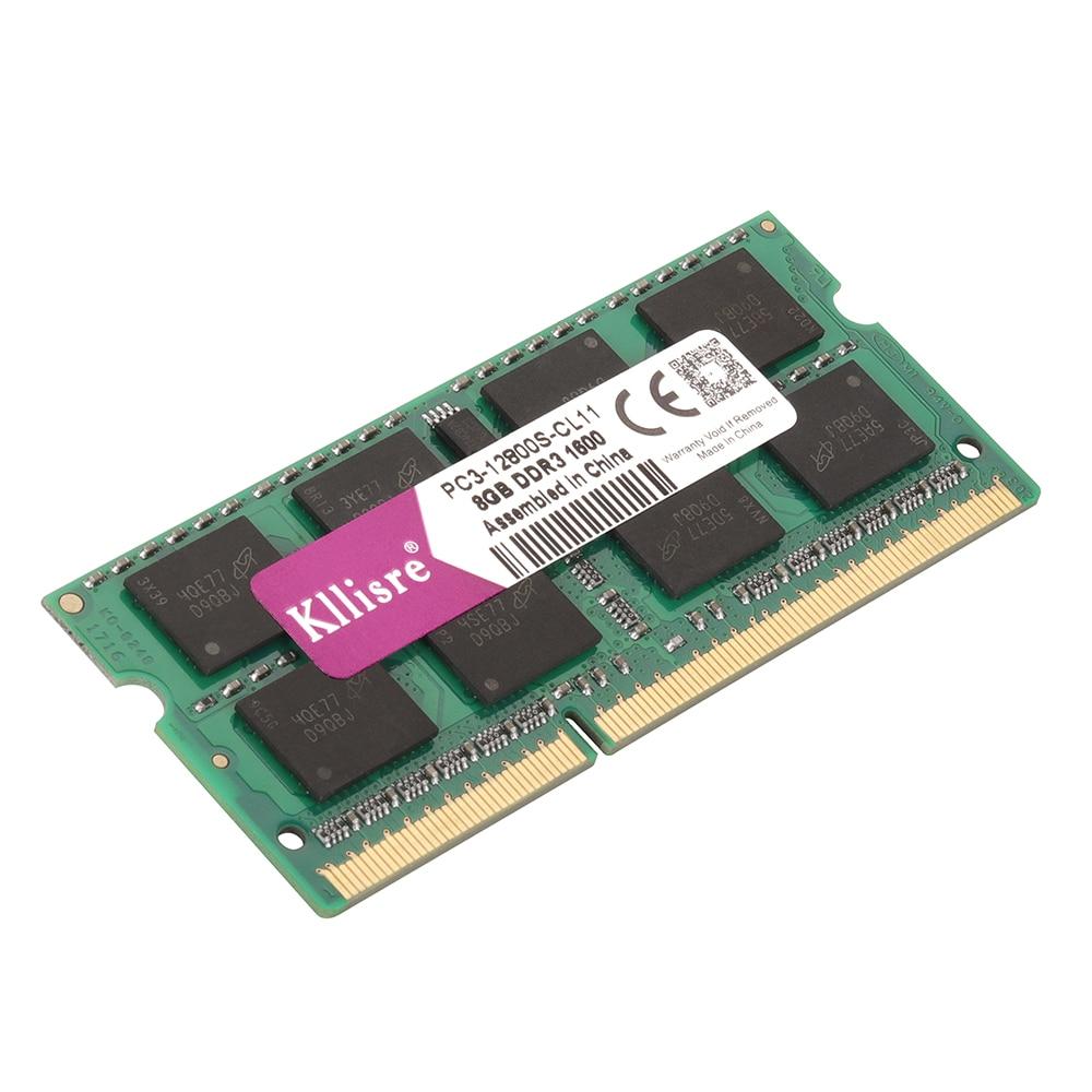 Kllisre-DDR3-8GB-1333MHz-1600Mhz-204-Pin-Laptop-RAM-SO-DIMM-Notebook-Memory