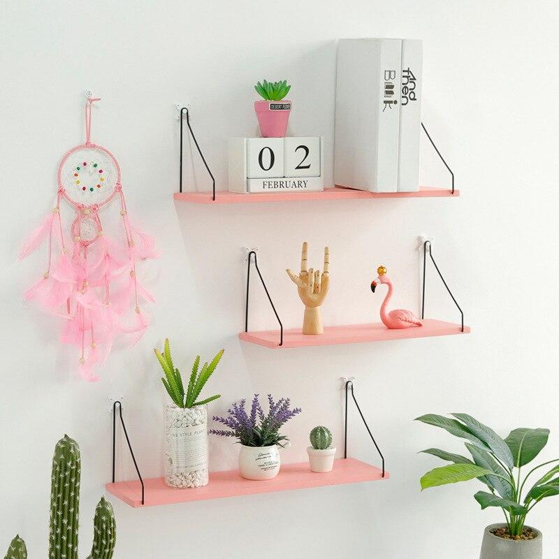 Nordic-Wooden-Wall-Shelf-Wood-Shelf-Living-Room-Decoration-Organizer-Storage-Holders-Natural-Wood-Storage-Shelf