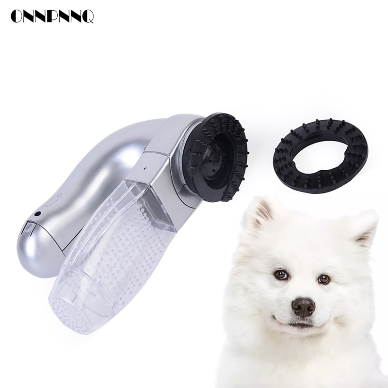 New Electric Pet Removal Hair Device Portable Pet Vacuum Cleaner For Dog Cat Small Animal Massage Dog Accessories Pet Supplies