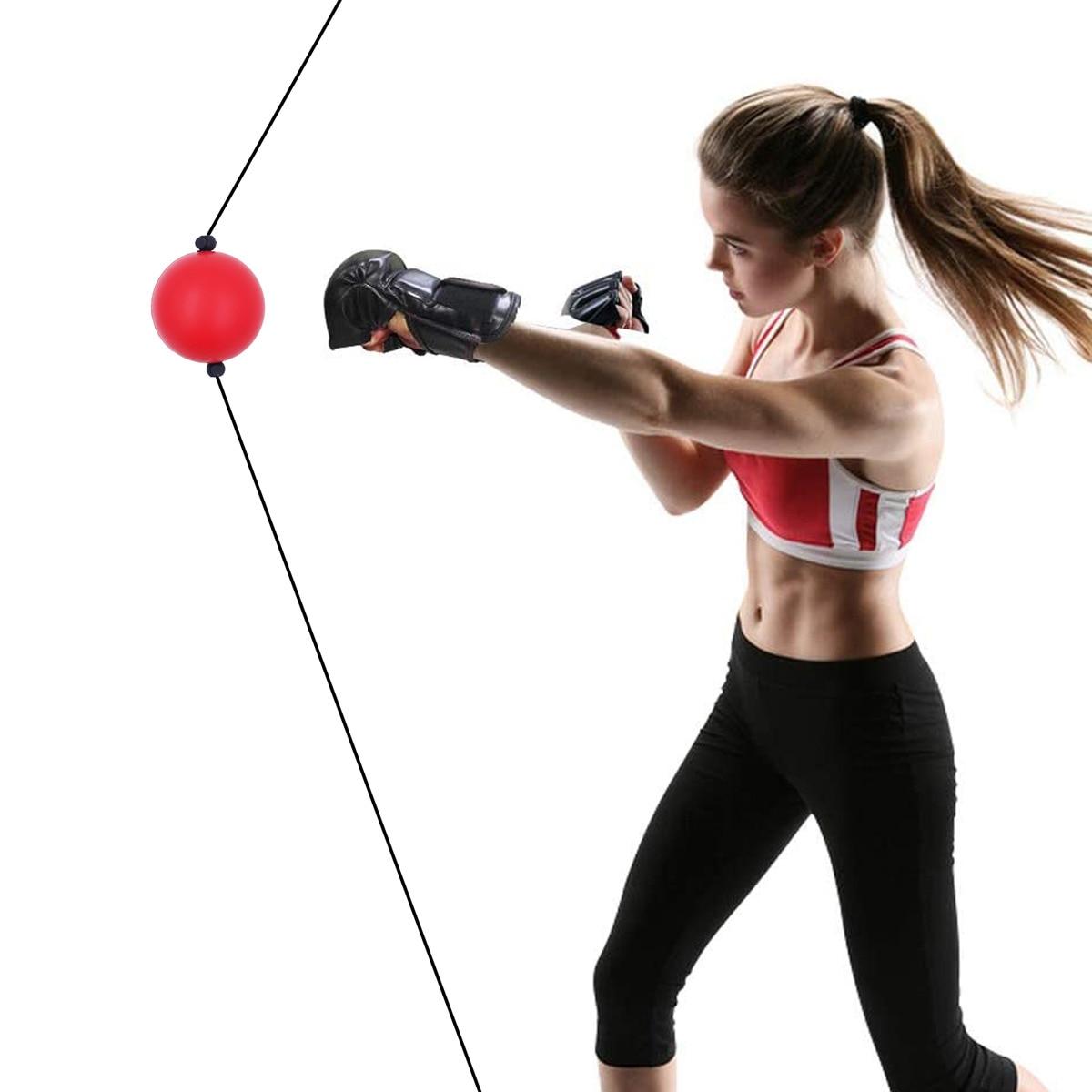 Boxing Reflex Ball PU Quick Punching Ball for Training Boxing