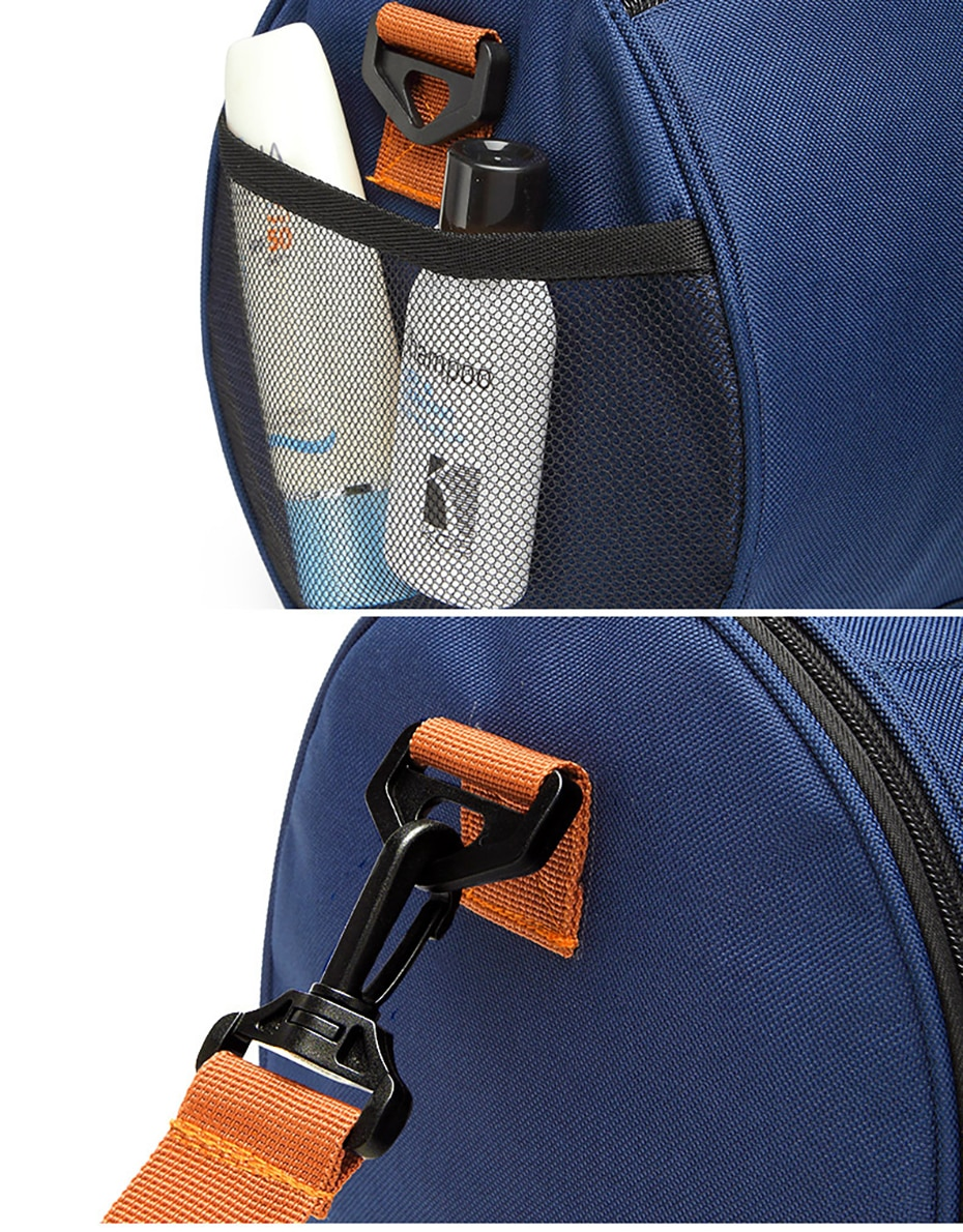 Outdoor Sports Gym Bag Multifunction Training Fitness Shoulder Bag With Shoes Pocket Travel Yoga Handbag Dry wet Swimming Bag0107