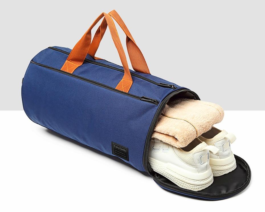 Outdoor Sports Gym Bag Multifunction Training Fitness Shoulder Bag With Shoes Pocket Travel Yoga Handbag Dry wet Swimming Bag0104