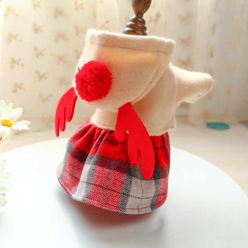 红格麋鹿裙_6363