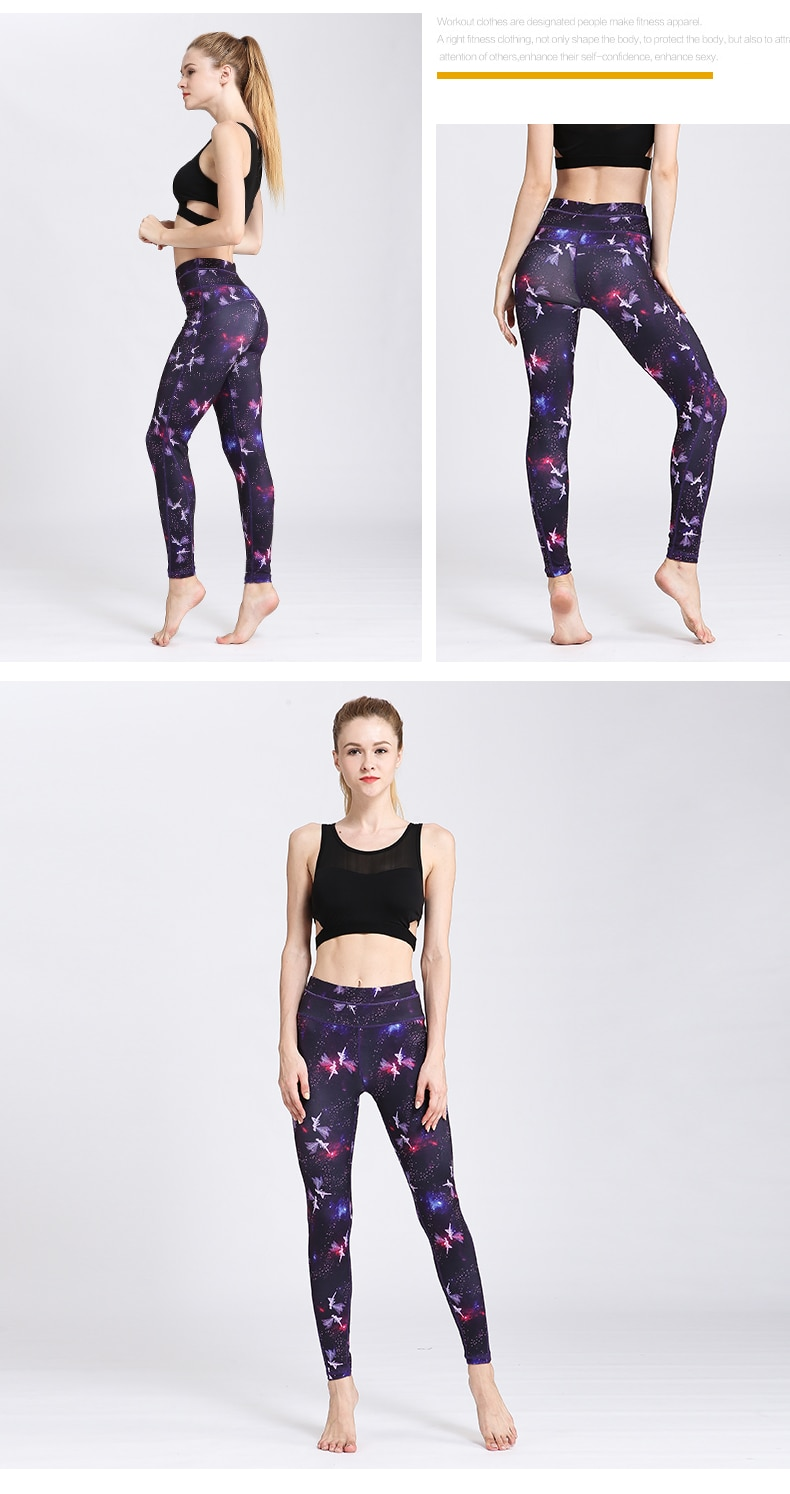 Women Colorful Yoga Leggings JOMOBabe Official Online Store | Women Gym Clothes & Workout Wear | JOMOBabe